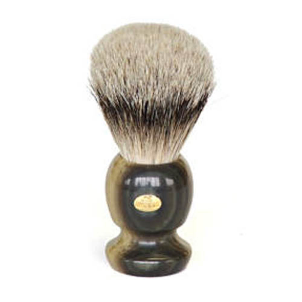 SHAVING BRUSH - GRAY MEDIUM