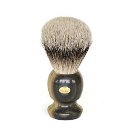 SHAVING BRUSH - GRAY SMALL