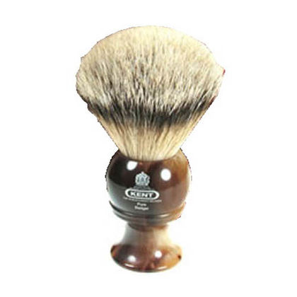 "SHAVING BRUSH - ""HORN"" MEDIUM H-8"