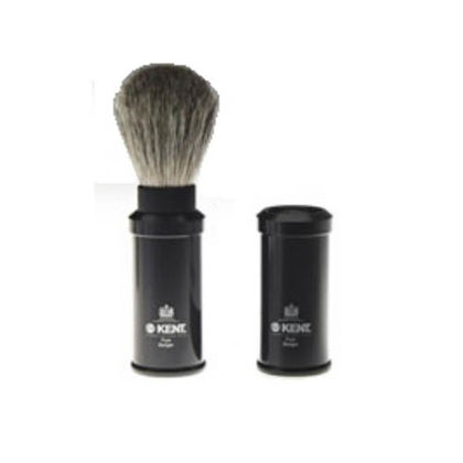 SHAVING BRUSH - TRAVEL BLACK (viaje)