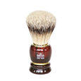 SHAVING BRUSH - BROWN SMALL